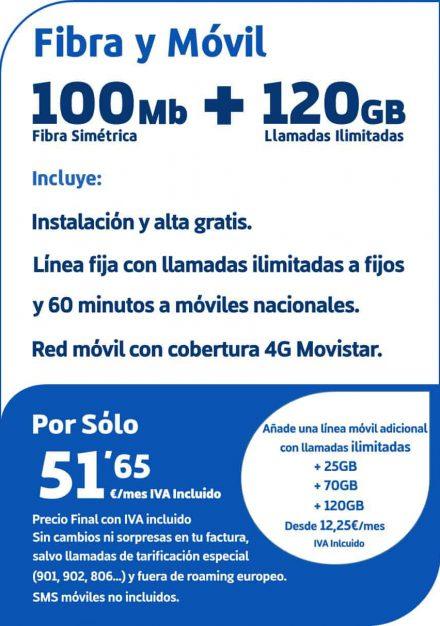 Fibra100yMovil120