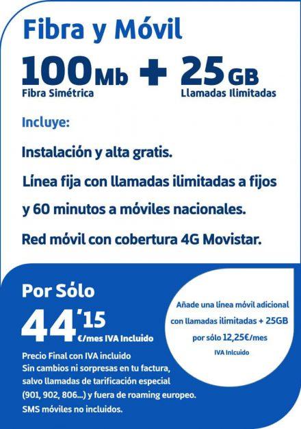 Fibra100yMovil25